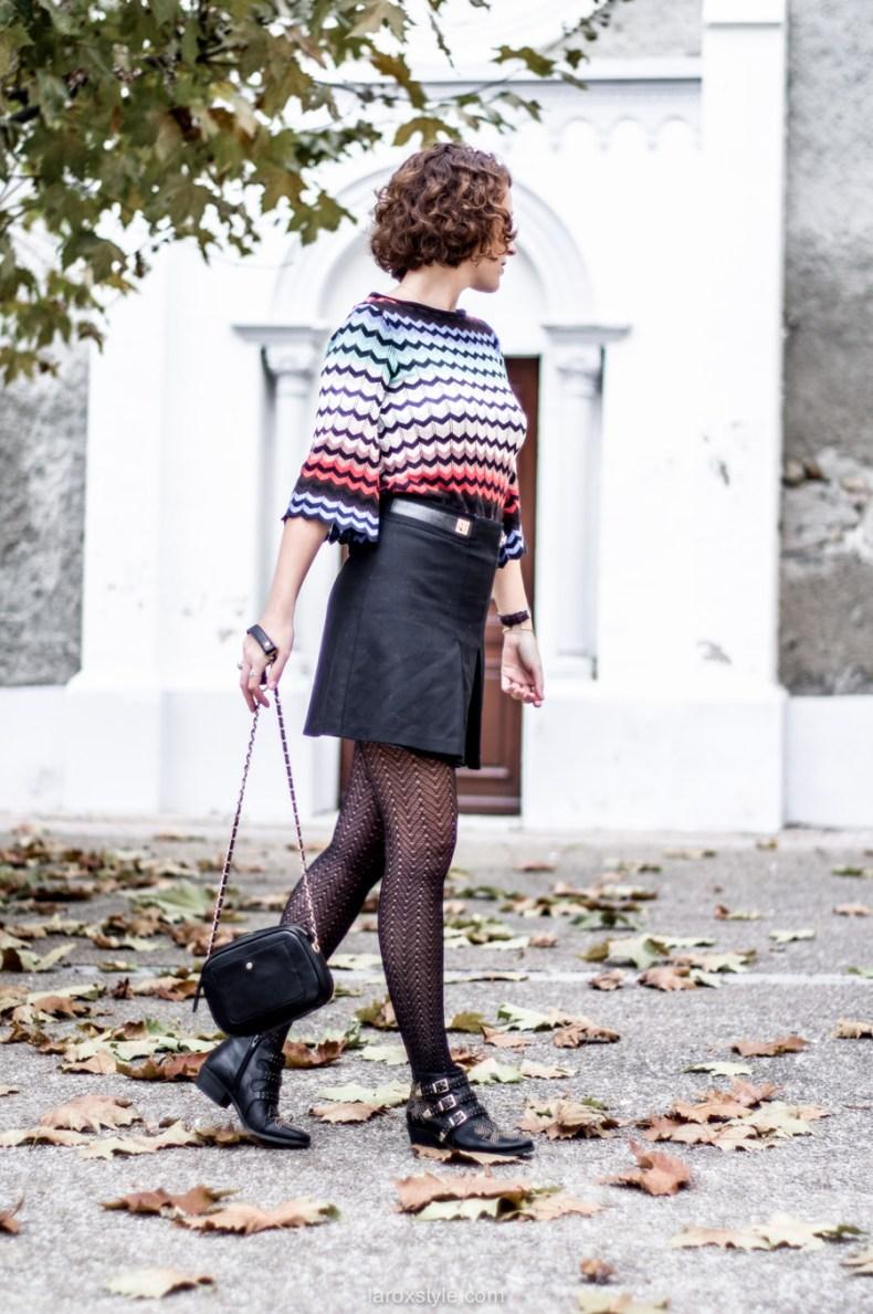 mini jupe trapeze - porter de la couleur en hiver - blog mode lyon - laroxstyle-8