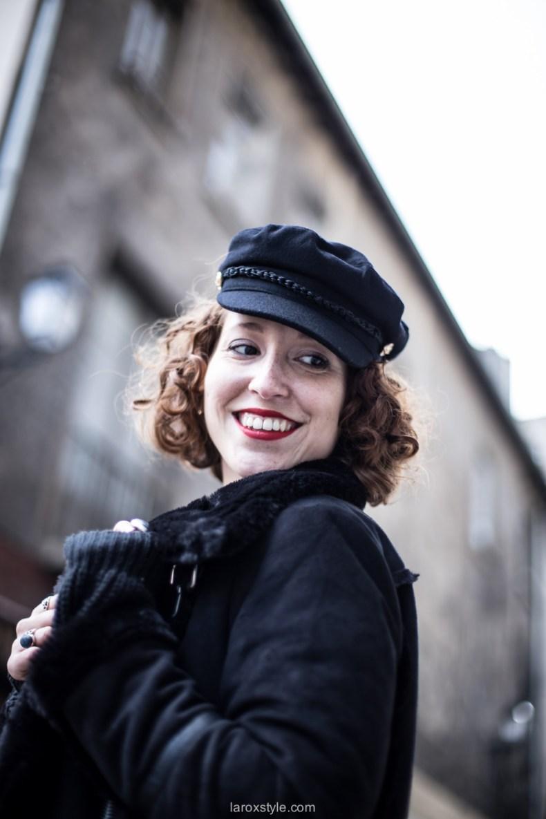porter la gavroche femme - laroxstyle - blog mode lyon