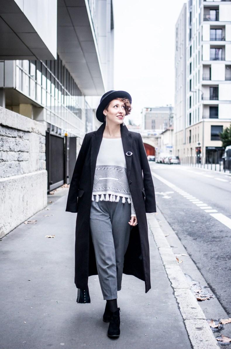 porter le chapeau sur cheveux courts - street look - laroxstyle blog mode lyon