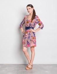robe a fleurs - fiancee du mekong
