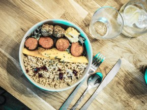 Bowl vegetarienne - bartholome lyon