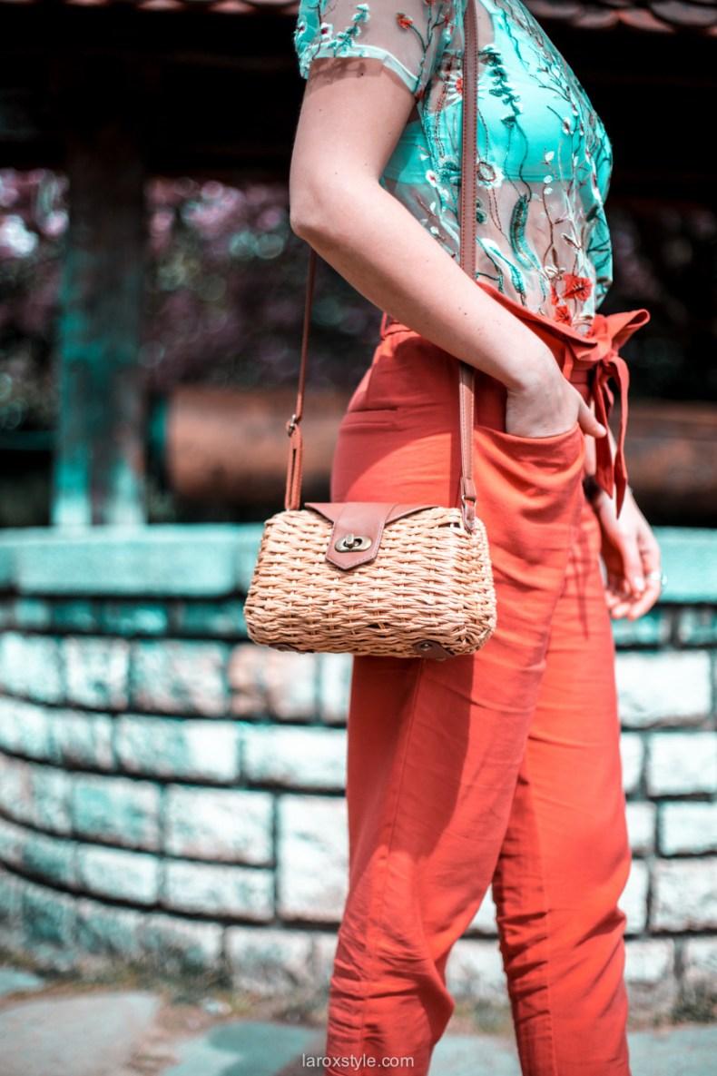 blossom party au Parc de la tete d or - look printemps - look fleuri - blog mode lyon - laroxstyle -37