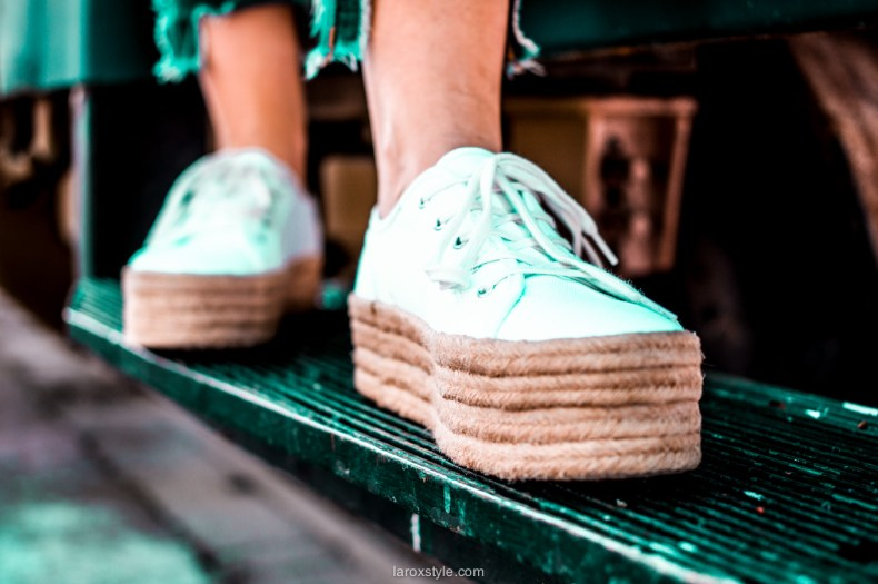 espadrille tennis - blog mode