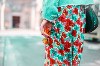 look festival - robe longue fleurie - stan smith - nuits sonores day 1 -11