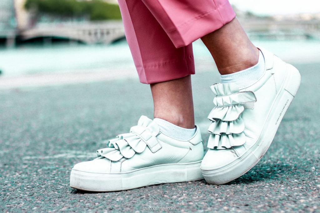 Zoom sur la combi pantalon : je mets quoi comme chaussures