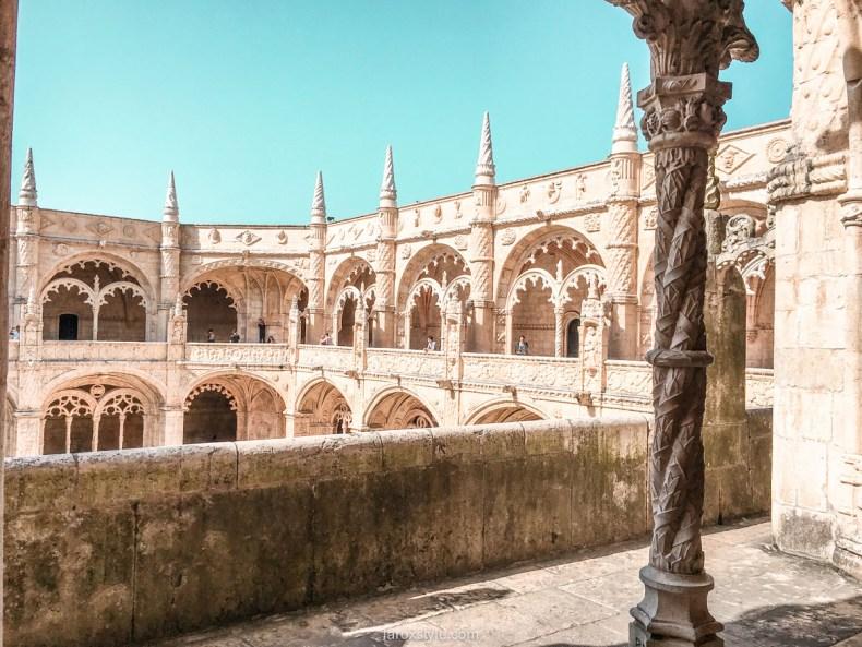 5 lieux a ne pas manquer a Lisbonne - Monastere des Hieronymites - mosteiro dos jeronimos - blog-13