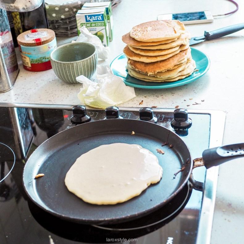 brunch gourmand et equilibre - recettes pancakes au lait d amande