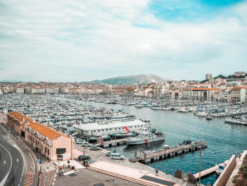 Que faire un jour a Marseille - vieux port de marseille