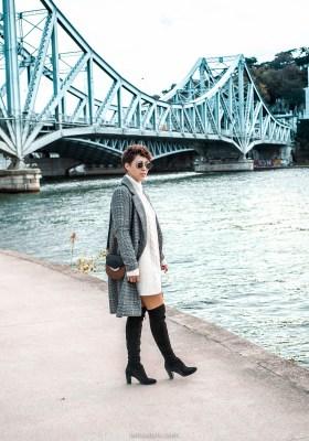 Robe léopard   comment porter une robe d été en hiver   • LaRoxStyle 27f6969bda8