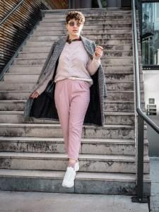 idee look blog total look rose - comment porter le total look rose sans ressembler a barbie -1