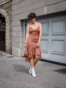 quelles tenues pour une invitee a un mariage - robe legere a volants - blog mode-1