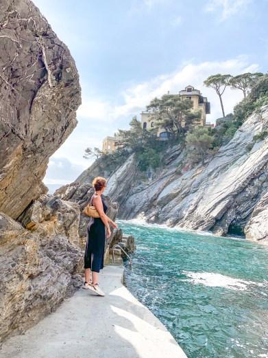 logement airbnb rapallo italie plage privée