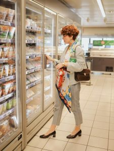 shooting au supermarche - supermarket photoshoot ideas