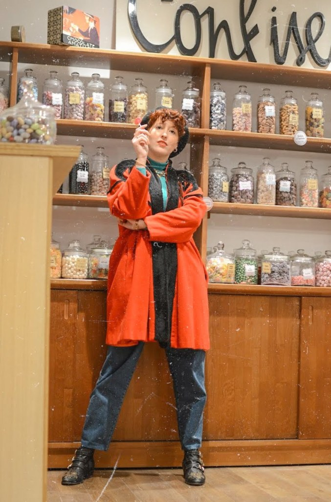 shooting dans un magasin de bonbons - candy shop photoshoot