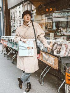 shooting chez le disquaire - record store photoshoot inspo