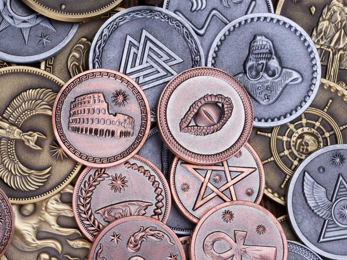 Kickstarter – Fantasy Coins for LARP