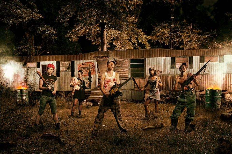 Survive a zombie apocalypse on TV