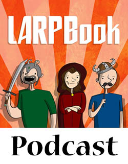 LARPBook Podcast Episode 9: Lewis, funny name for a pirate!