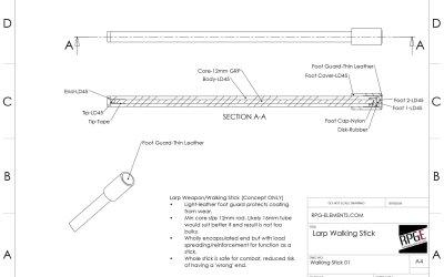 The LARP Safe Walking Stick – Redux