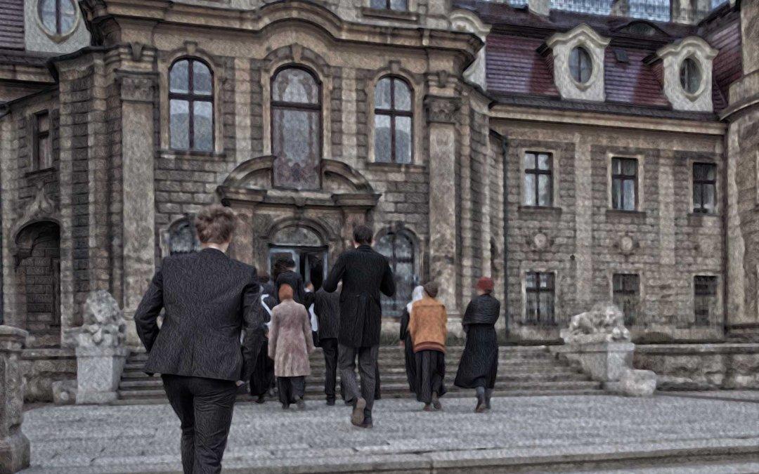 Entering Fairweather Manor