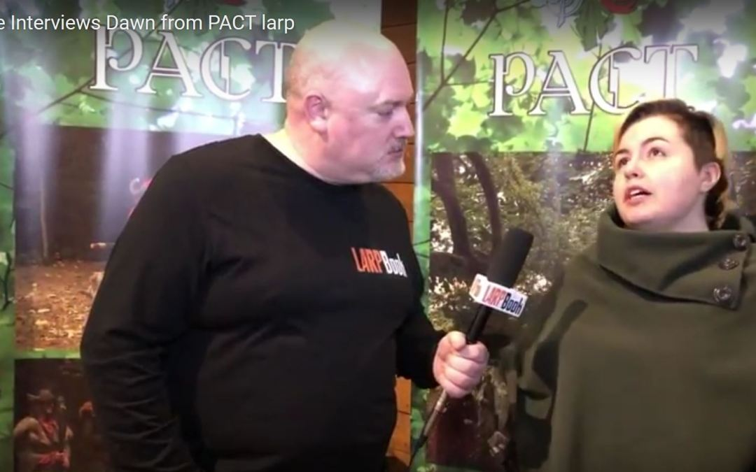 What's Your Game 2018 – Interview with Dawn from PACT Larp