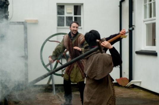 Big Swords need practice in the mist