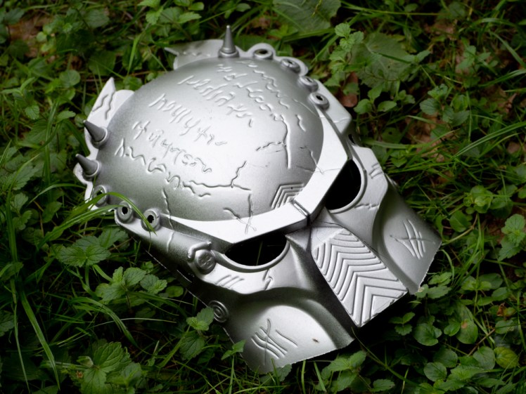 Which predator wears a mask like this