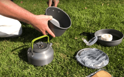GreensKon Camping Cookware Kit Review
