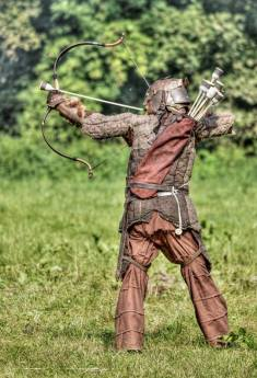Who said you can't shoot larp arrows quickly? [Video Tutorial]