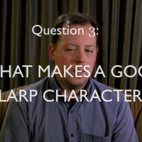 What makes a good LARP character?