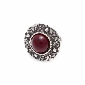 Кольцо бижутерия с камнем