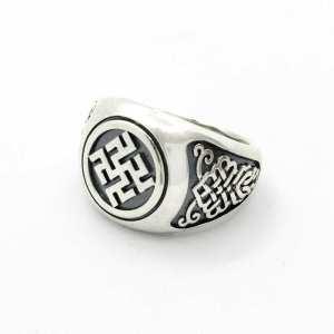Перстень с оберегом Одолень-Трава