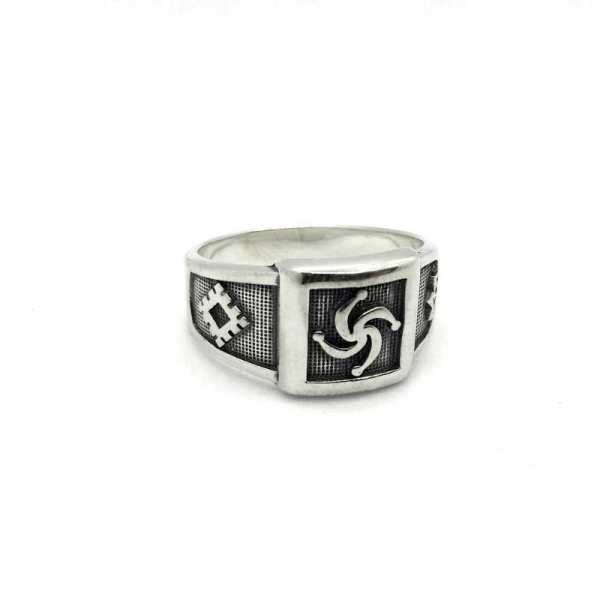 Родовое Кольцо - Символ Рода и репейник счастья, молвинец