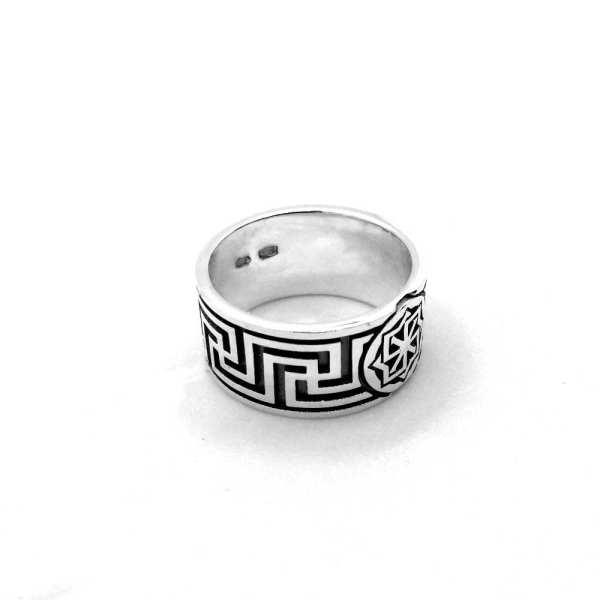 Молвинец Рысич серебряное кольцо