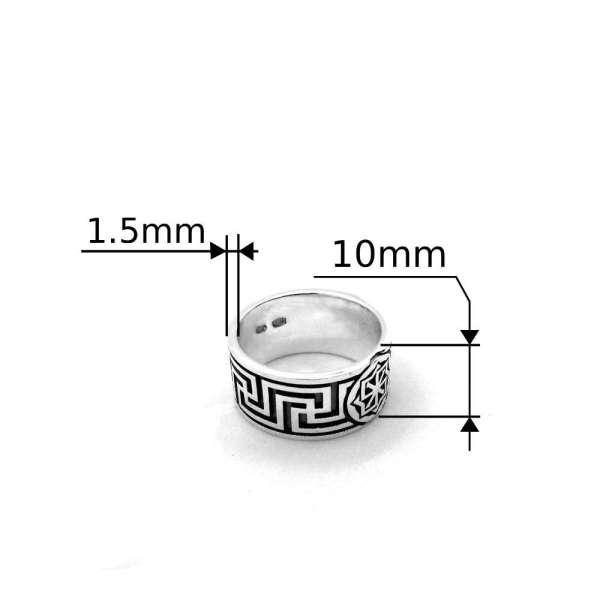 Кольцо молвинец с размерами