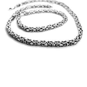 Лисий Хвост серебряная цепочка