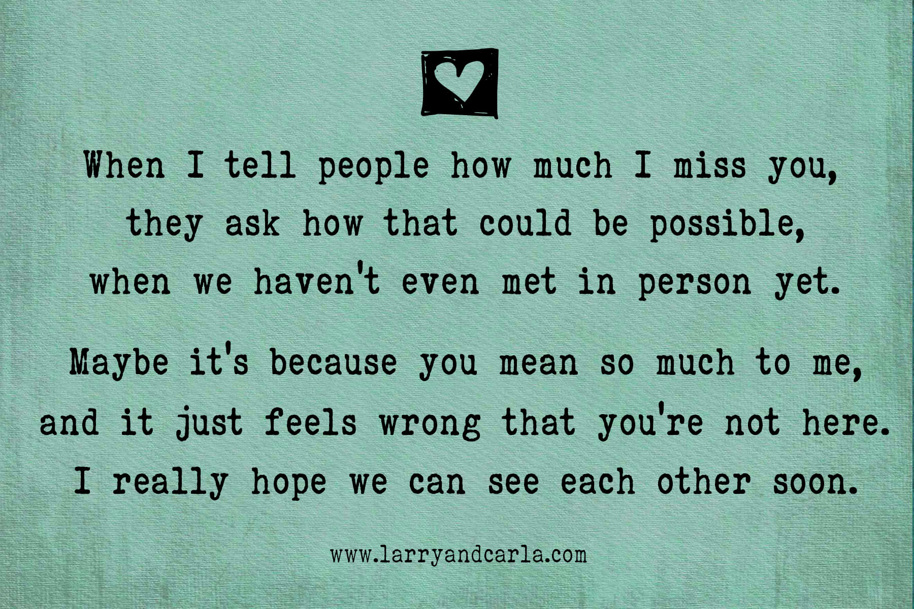 20+ I Miss You Quotes For Her Long Distance   Inspirational Quotes