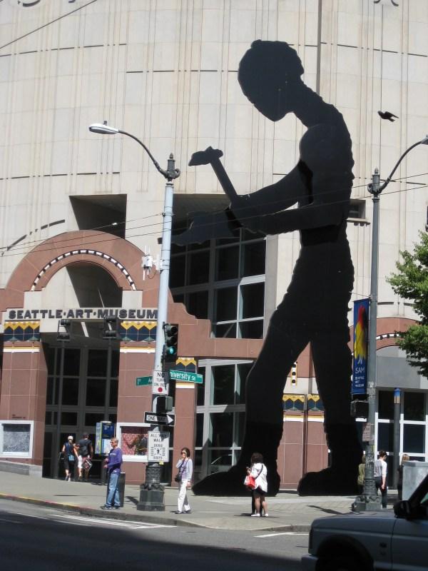 Seattle Art Museum Sculpture