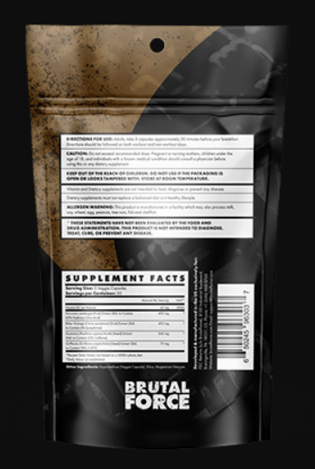 Ccut Back Label with Facts