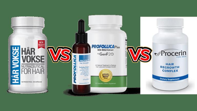 Har Vokse vs Profollica vs Procerin Comparison Guide by Larry Beinhart