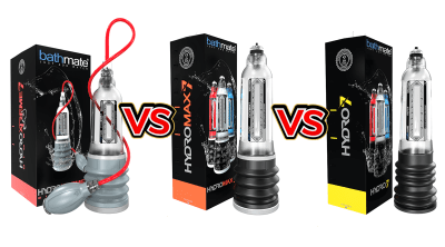 HydroXtreme Vs HydroMax Vs Hydro Comparison Guide by Larry Beinhart