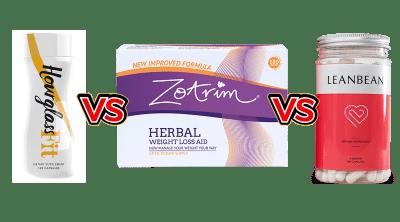 Zotrim vs LeanBean vs HourGlass Fit comparison Guide by Larry Beinhart