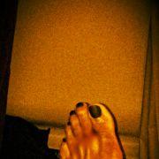 dwyane wade toe nails painted