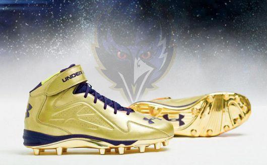 Ravens-gold-Super-Bowl-cleats