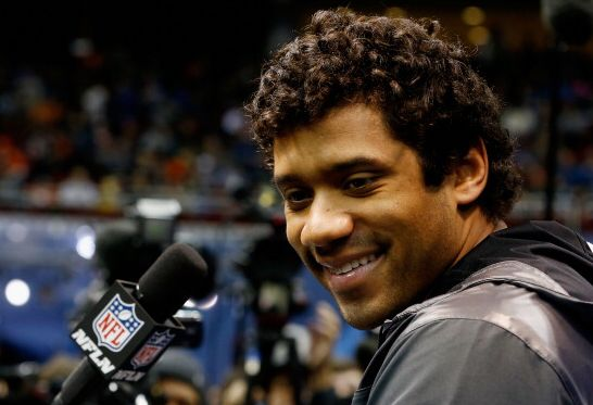 Russell Wilson Explains His Phenomenal Hairstyle Larry