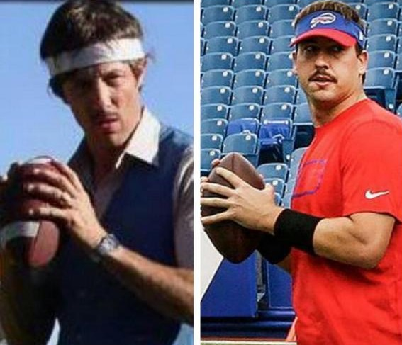 Kyle Orton totally looks like Uncle Rico  Larry Brown Sports