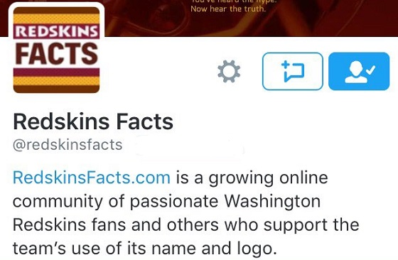 Redskins facts