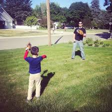 Picture Courtesy of Google.comFather and Son playing baseball.