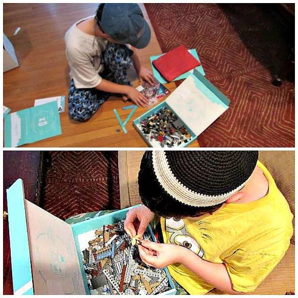 BR&SJ enjoying Lego Pley