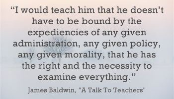 great new yorker essay on teachers larry ferlazzo s websites of  james baldwin on teaching